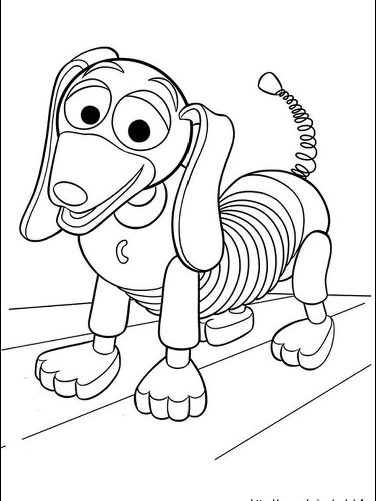 print toy story coloring pages