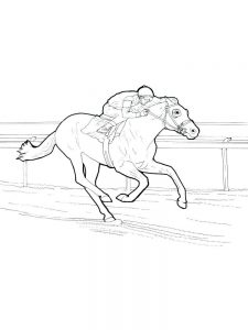 print wild horse coloring pages