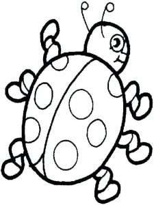 printable Ladybird coloring pages