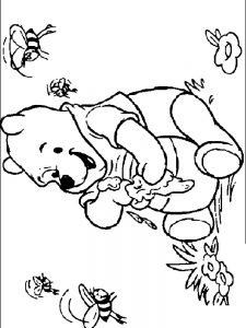 printable baby winnie the pooh coloring pages