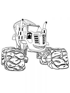 printable blaze and the monster machines coloring pages 015