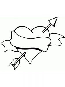 printable heart coloring pages adults