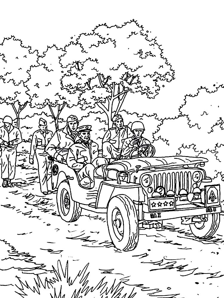 printable soldier coloring pages free