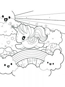 printable unicorn head coloring pages