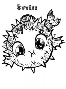puffer fish coloring pages printable