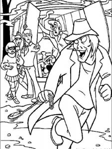 scooby doo coloring pages for adults