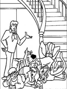 scooby doo coloring pages images
