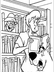 scooby doo coloring pages online