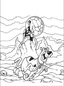 scooby doo coloring sheets free printable