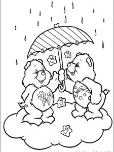 share bear care bear coloring pages