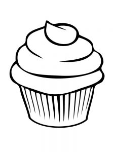 shopkins cupcake coloring pages