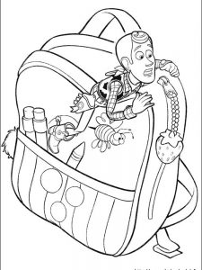 slinky toy story coloring pages