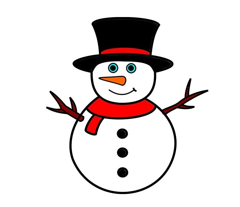 snowman cool coloring