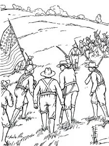 soldier coloring page pdf