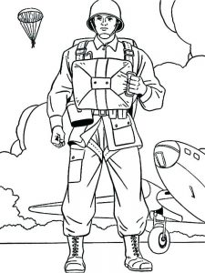 soldier coloring pages for kids pdf