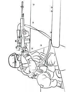 soldier coloring pages free pdf
