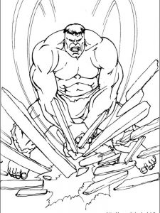 spiderman vs hulk coloring pages