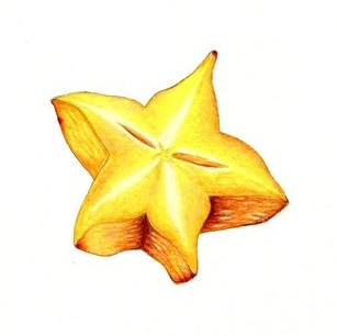 star fruit coloring pages pdf