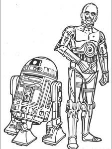 star wars battle coloring pages