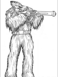 star wars cartoon coloring pages