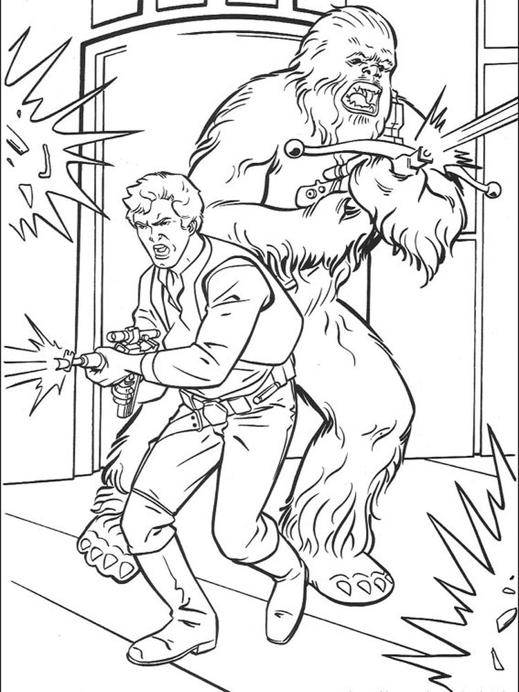 star wars coloring pages birthday