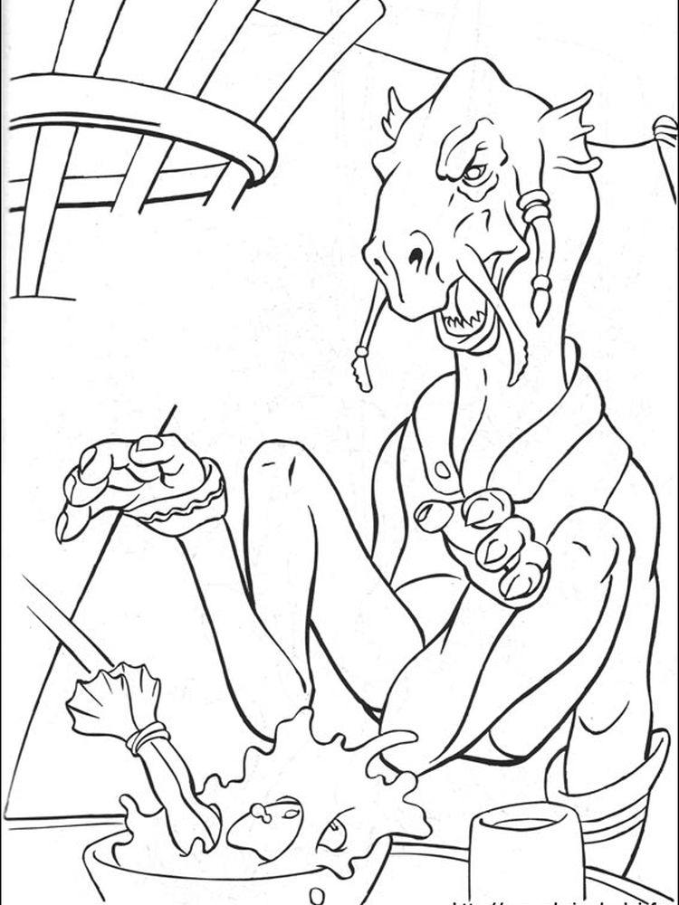 star wars coloring pages yoda