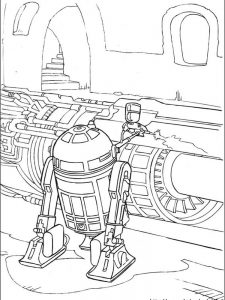 star wars day coloring pages