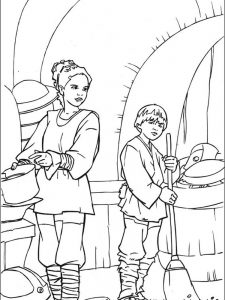 star wars valentines day coloring pages