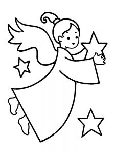 stars coloring pages free