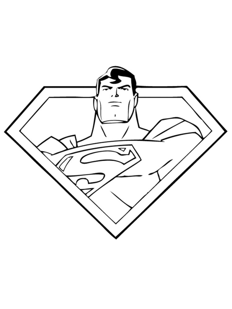 superman and batman coloring pages 1