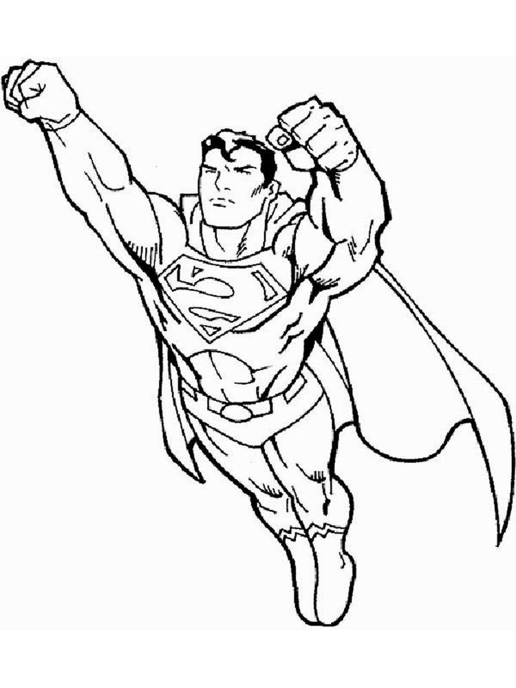 superman and batman coloring pages to print 1