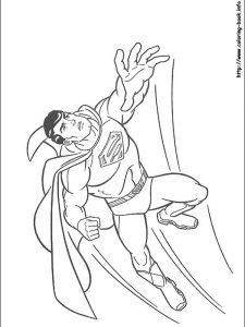 superman coloring pages free to print