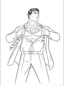 superman coloring pages games