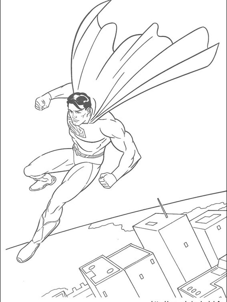 superman online coloring pages