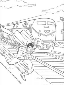 superman returns coloring pages