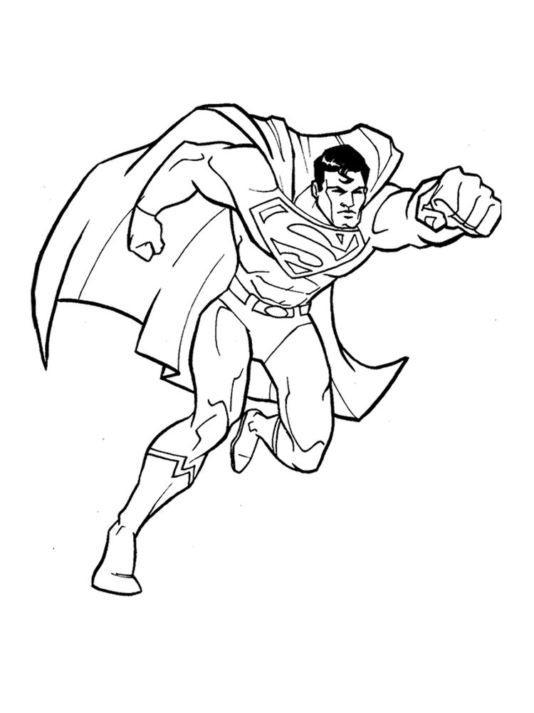 superman s coloring pages