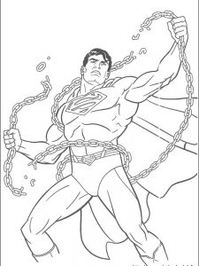 superman spiderman coloring pages