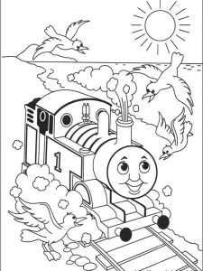 thomas the train coloring pages free online