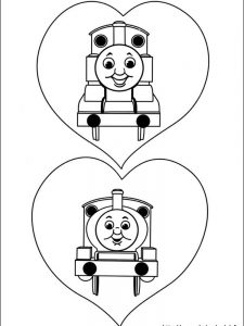 thomas the train coloring pages to print