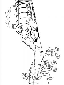 thomas the train engine coloring pages