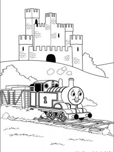 thomas the train gordon coloring pages
