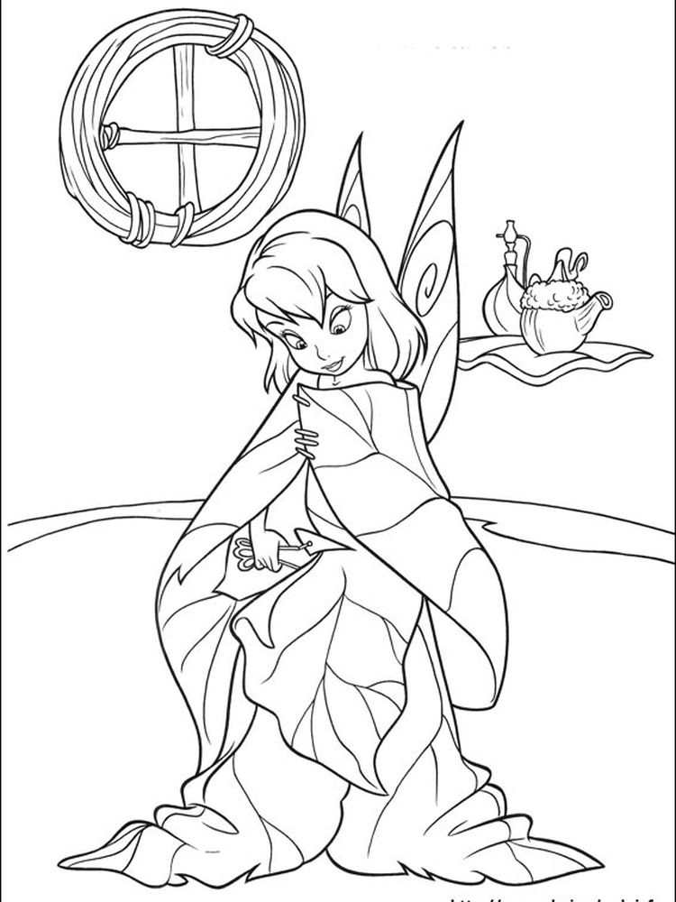 tinkerbell coloring pages games