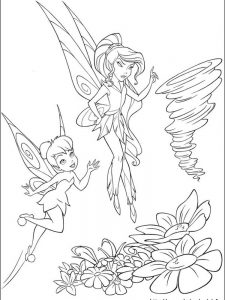 tinkerbell coloring pages to print for free