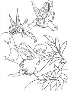 tinkerbell coloring pages to print out