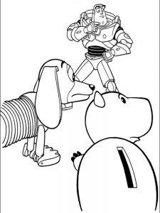 toy story 2 coloring pages free