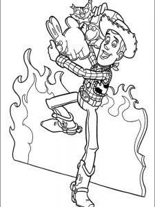 toy story 2 coloring pages printable