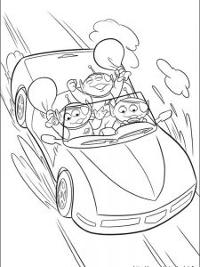 toy story 3 coloring pages