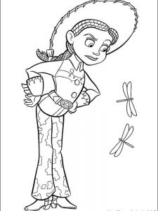 toy story 3 woody coloring pages