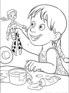 toy story coloring pages online