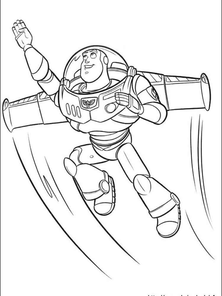 toy story coloring pages print